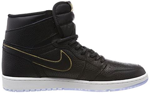 Nike Air Jordan 1 Retro High OG Shoe - Black Image 6